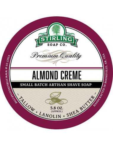 Skūšanās ziepes Stirling Almond Creme 170ml