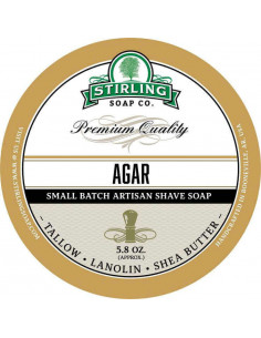 Skūšanās ziepes Stirling Agar 170ml