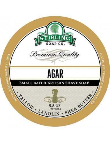 Skutimosi muilas Stirling Soap Agar 170ml