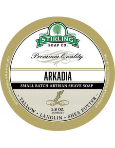 Skūšanās ziepes Stirling Soap Arkadia 170ml