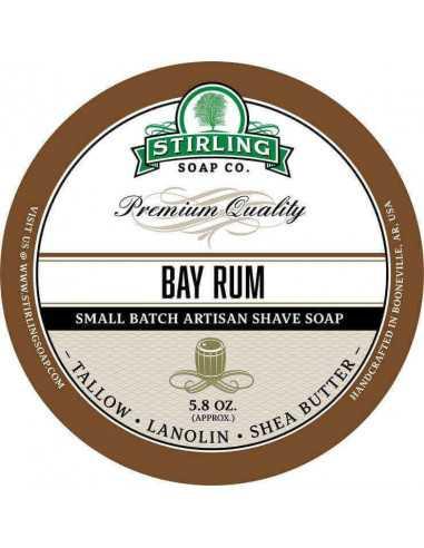 Skutimosi muilas Stirling Soap Bay Rum 170ml