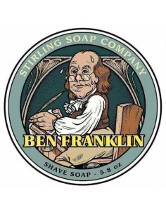 Skutimosi muilas Stirling Soap Ben Franklin 170ml