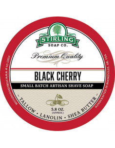 Skūšanās ziepes Stirling Soap Black Cherry 170ml