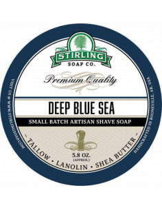 Stirling Soap Deep Blue Sea skūšanās ziepes 170ml