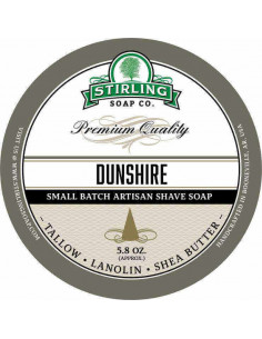 Skūšanās ziepes Stirling Soap Dunshire 170ml
