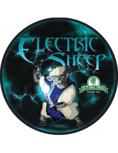 Skūšanās ziepes Stirling Soap Electric Sheep 170ml