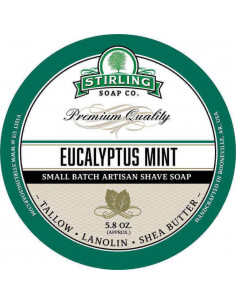 Raseerimisseep Stirling Soap Eucalyptus Mint 170ml
