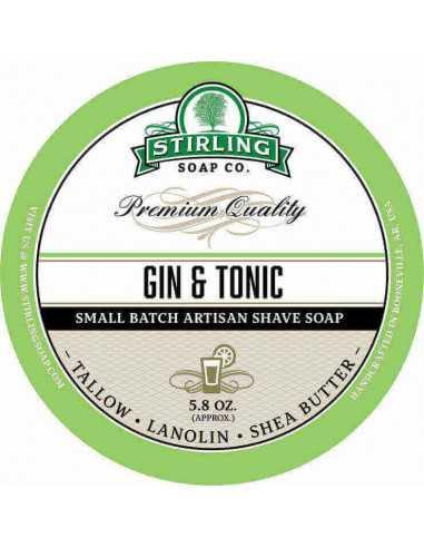 Skūšanās ziepes Stirling Soap Gin & Tonic 170ml