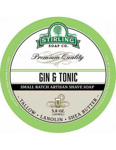 Skutimosi muilas Stirling Soap Gin & Tonic 170ml