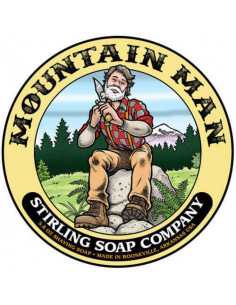 Stirling Soap Mountain Man skūšanās ziepes 170ml