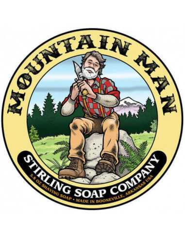 Stirling Soap Mountain Man skūšanās ziepes 170ml