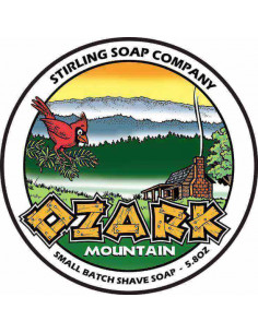 Skutimosi muilas Stirling Soap Ozark Mountain 170ml