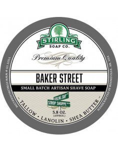 Skūšanās ziepes Stirling Soap Baker Street 170ml