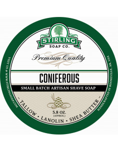 Stirling Soap Coniferous raseerimisseep 170ml