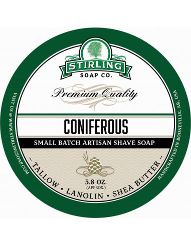 Skūšanās ziepes Stirling Soap Coniferous 170ml