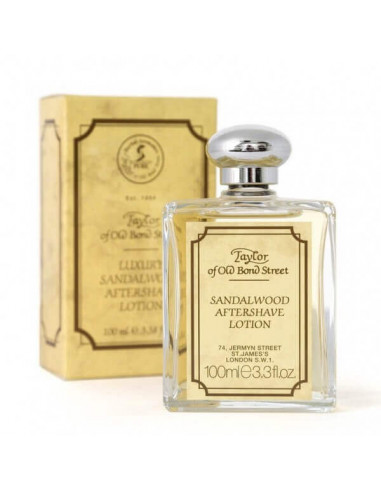Taylor of Old Bond Street Losjonas po skutimosi Sandalwood 100ml