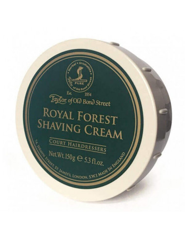 Taylor of Old Bond Street skutimosi kremas Royal Forest 150g