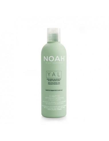 Noah atkuriamasis šampūnas su hialurono rūgštimi ir šalaviju 250ml
