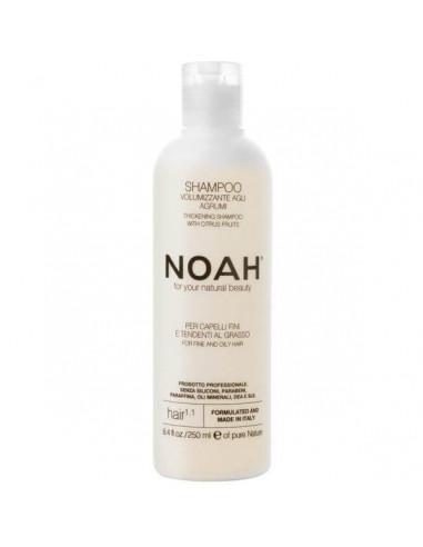 Noah 1.1 Šampoon rasustele ja õhukestele juustele 250ml